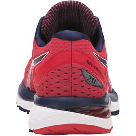 asics Gel-Cumulus 20 Shoes Men Red Alert/Peacoat
